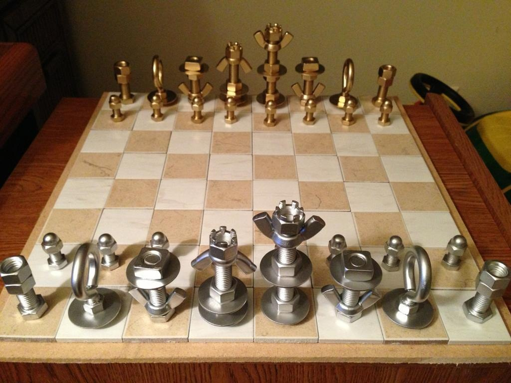Awesome Unconventional Chess Set Gift For Men