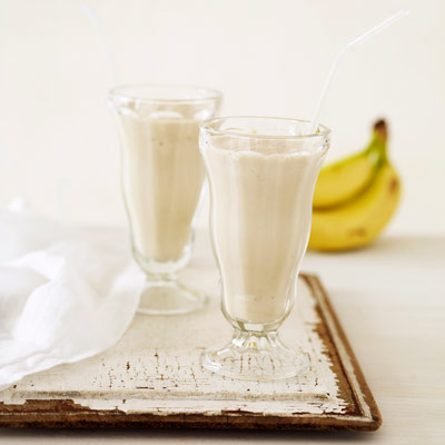 Banana And Peanut Butter Smoothie