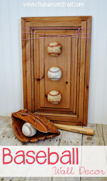 35 great diy gifts for men who love to be surprised cute diy baseball wall decoration solutioingenieria Choice Image