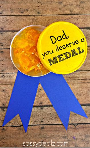Best Dad – Gold Medal Gift