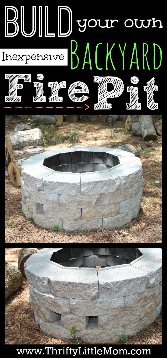 Inexpensive Backyard Fire Pits : 18 Cheap And Entertaining Backyard Fire Pit