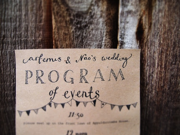 Come Up With Some Amazing Wedding Programs For Your Guests