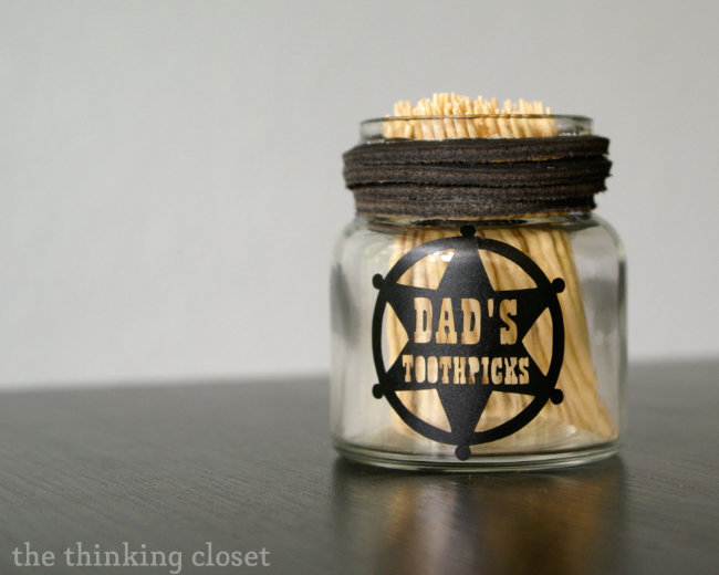 cute little personalized mason jars