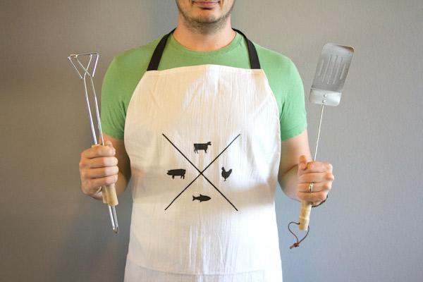 DIY Manly Man Apron