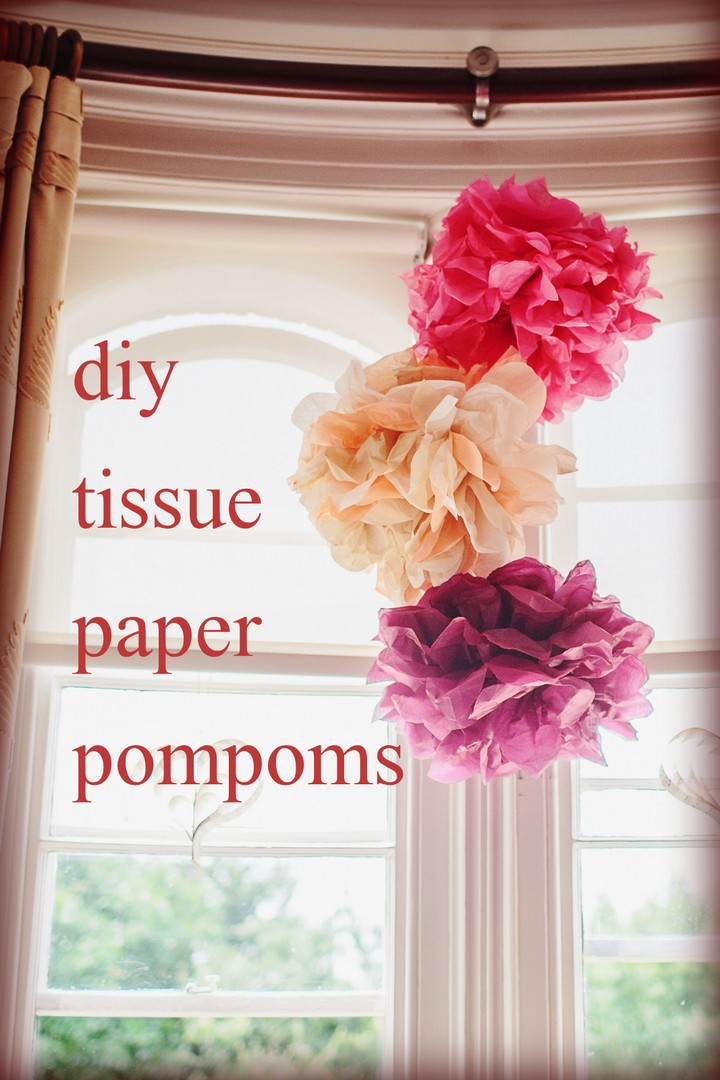 how much tissue paper for pom pom How to make tissue paper pom pom flowers  since those are pretty big, thick sheets you'll need less i can get away with 9-10 sheets per pom the average tissue paper you can buy at the store (say a 99¢ pack of eight sheets from party city) is smaller (20×24″) and thinner so you'll need about 12 sheets to get the same effect.