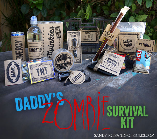 Daddy's Zombie Survival Kit