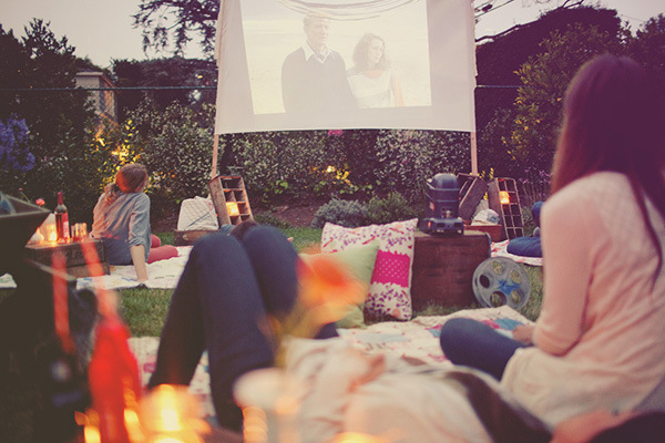 Enjoy A Backyard Movie