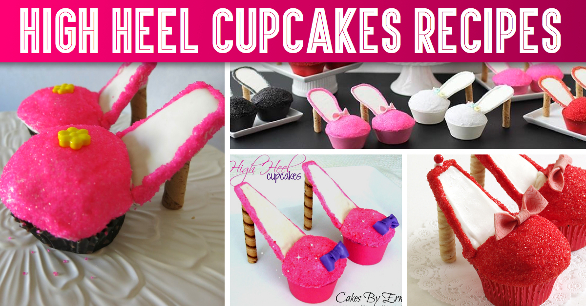 High Heel Cupcakes - Your Classic Cupcakes With A Fancy Twist!