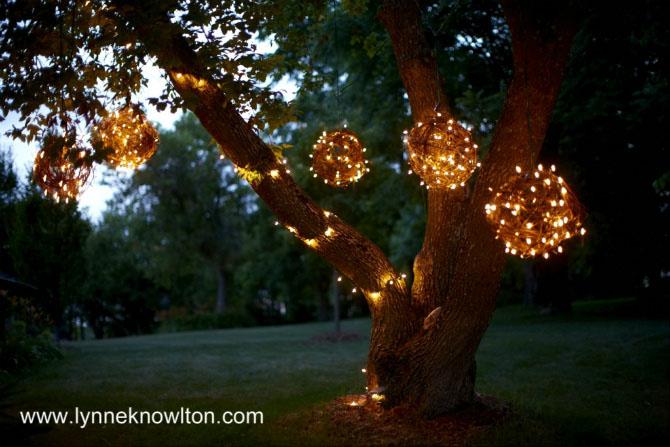 Let Grapevine Lighting Balls Brighten Up Your Evening