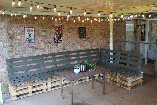 patio furniture from pallets. lovely corner furniture patio from pallets