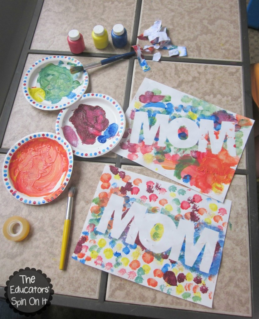 Cheap mother s day crafts that speak for themselves