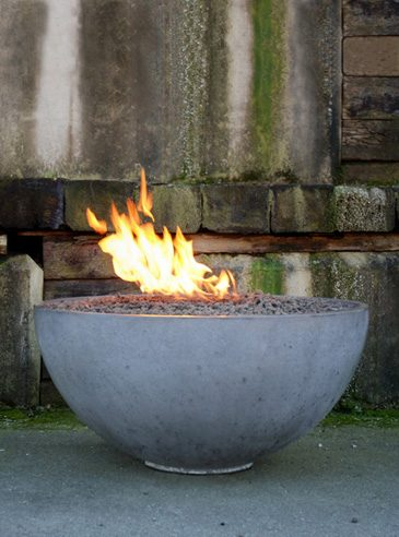Make Your Own Concrete Fire Pit Bowl