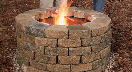 Make Yourself A Lovely Grill-Like Fire Pit