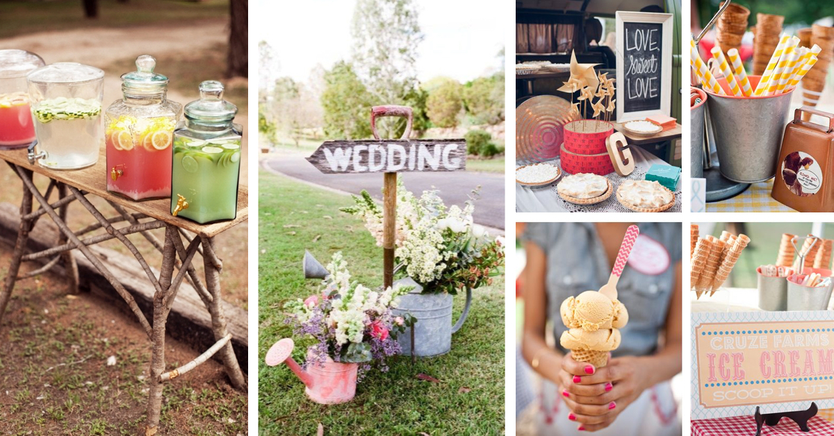 40 breathtaking diy vintage ideas for an outdoor wedding for Outdoor wedding decorating ideas