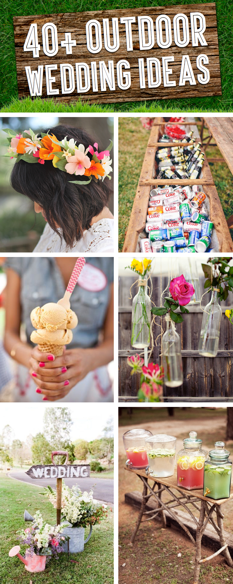 40 breathtaking diy vintage ideas for an outdoor wedding cute diy 40 breathtaking diy vintage ideas for an outdoor wedding junglespirit Images