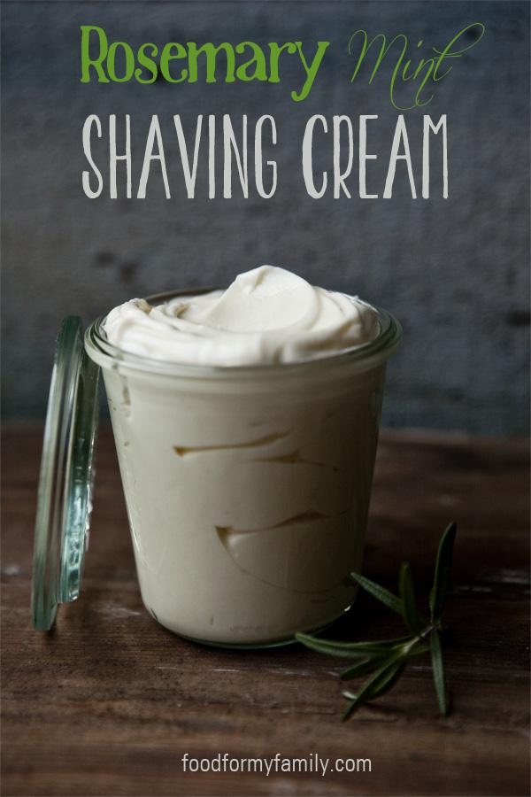 Rosemary And Mint Shaving Cream