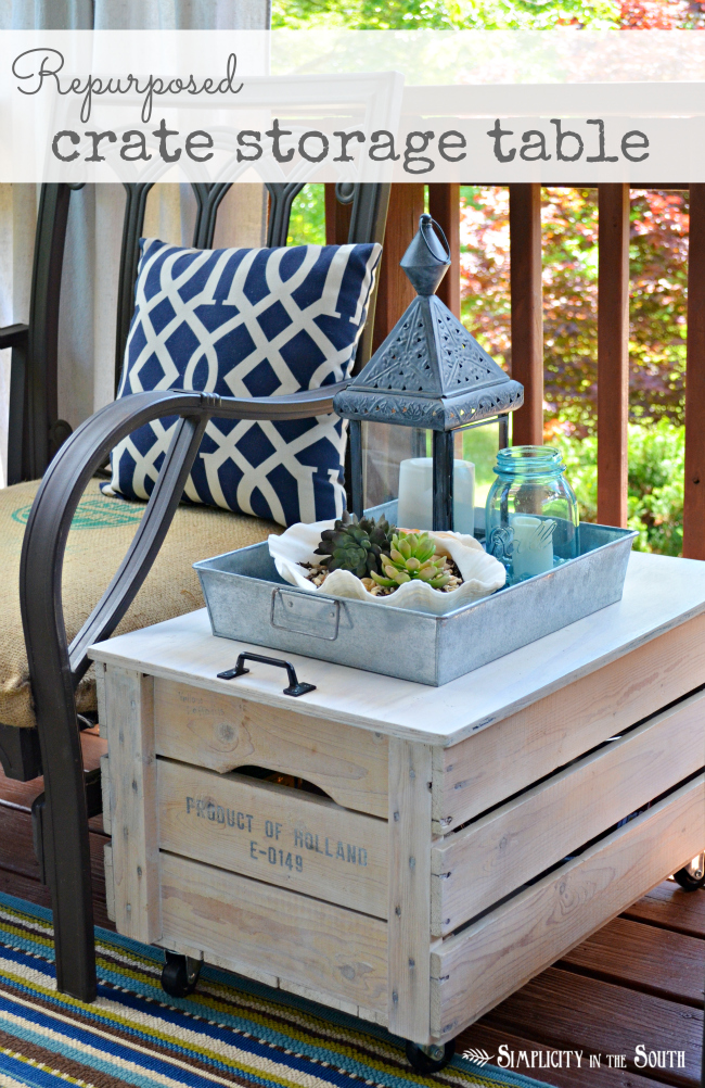shipping crate table - Garden Furniture Crates