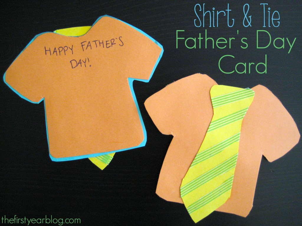 Shirt And Tie Father's Day Card