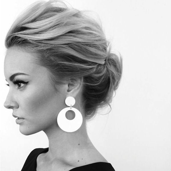 Simple Wipsy Updo