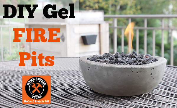 Small Gel Fire Pit!