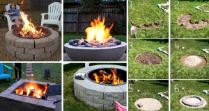 Stay Warm And Cozy With These 35+ DIY Fire Pit Tutorials