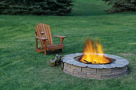 Stay warm and cozy with these 35 diy fire pit tutorials for Step by step fire pit