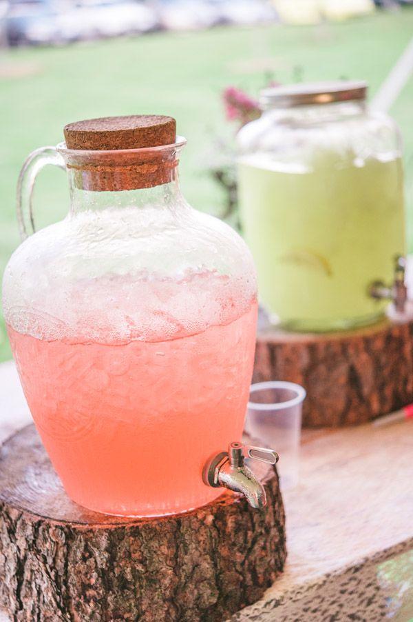 Stylish Lemonade Display