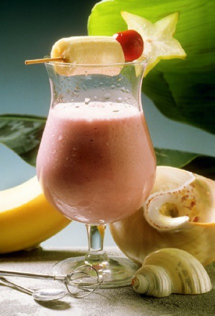 The Cherry And Banana Smoothie Recipe