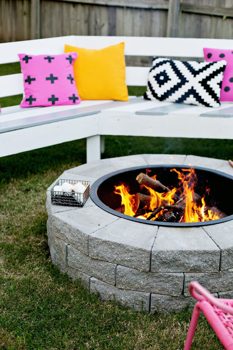 The Fastest Way To Build Your Own Fire Pit