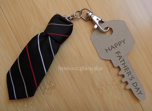 Tiny Tie Keychain