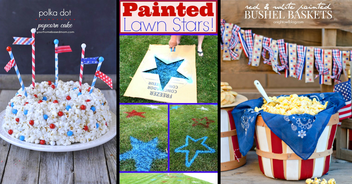 30 inspiring 4th of july party ideas you can make yourself cute 30 inspiring 4th of july party ideas you can make yourself cute diy projects solutioingenieria Choice Image