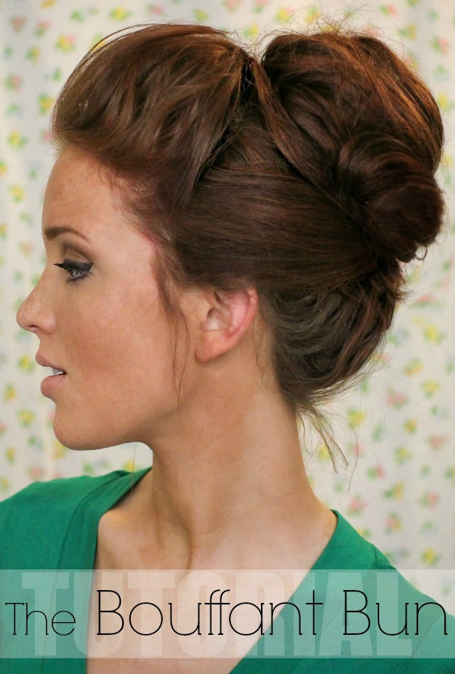 Buns Hairstyles top 25 messy hair bun tutorials perfect for those lazy mornings cute diy projects Bouffant Bun