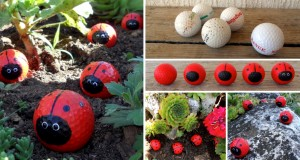 This Woman Painted on Old Golf Balls. The End Result Is Brilliant!