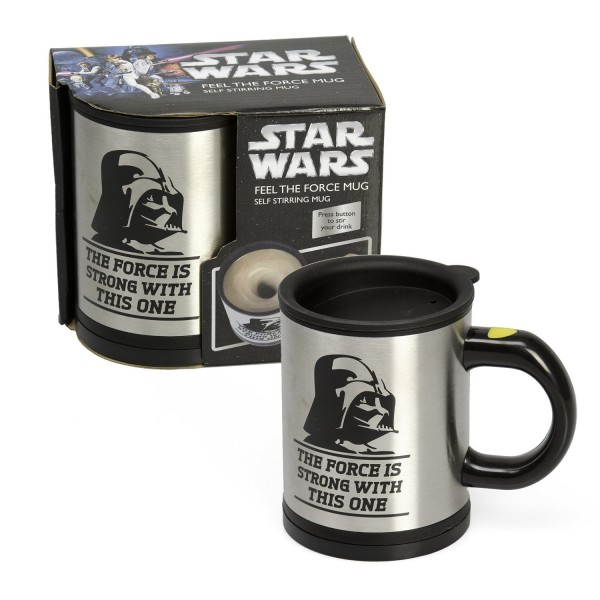 Darth Vader Self-Stirring Mug