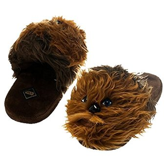 Fluffy Chewbacca Slippers