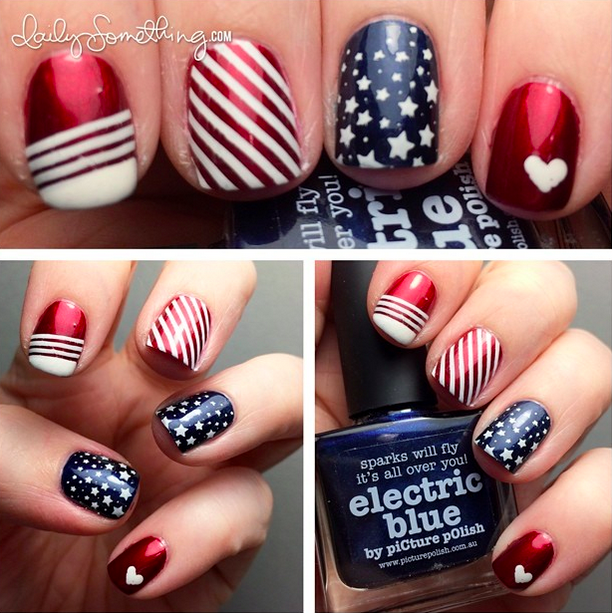 Independence Day Nail Ideas