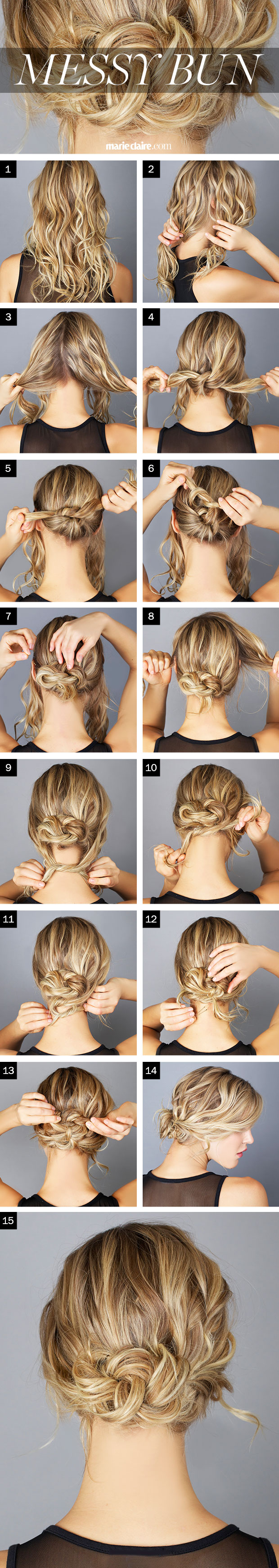 Make Your First Messy Bun