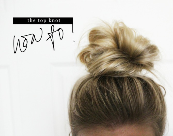 Top 25 messy hair bun tutorials perfect for those lazy mornings make your own top knot urmus Gallery