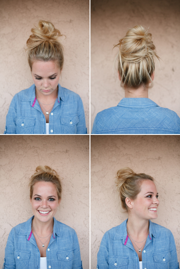 Messy Autumn Bun