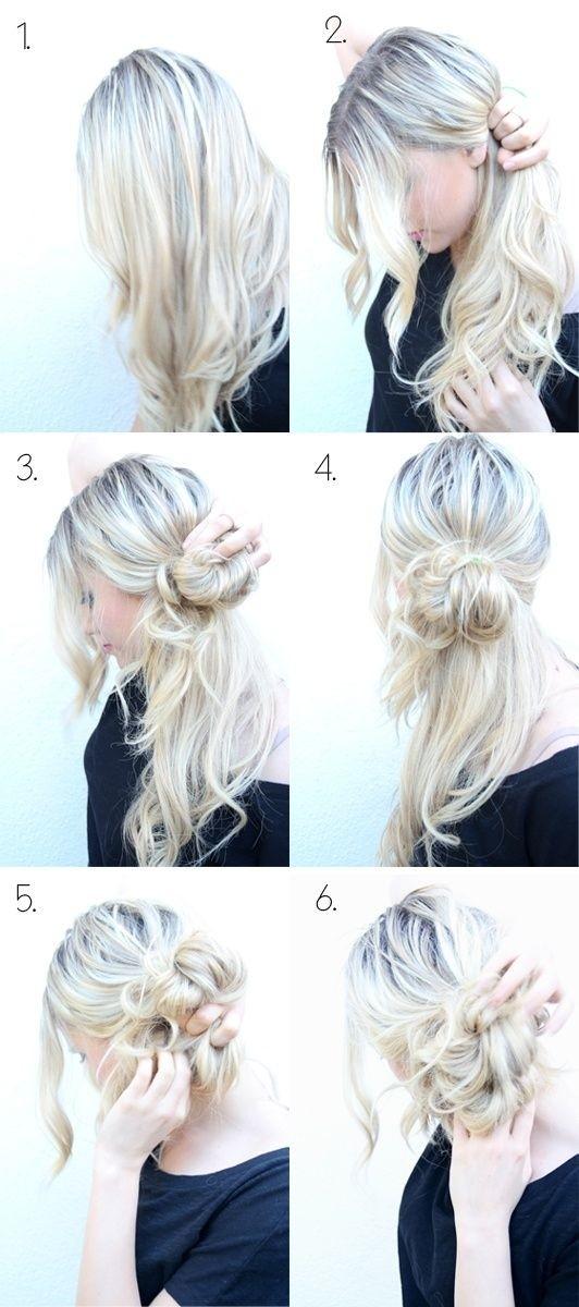 Wondrous Top 25 Messy Hair Bun Tutorials Perfect For Those Lazy Mornings Short Hairstyles Gunalazisus