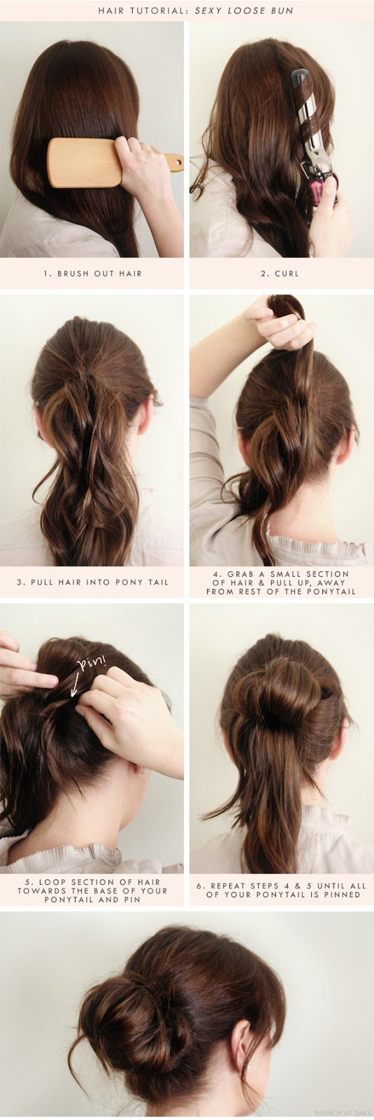Top 25 messy hair bun tutorials perfect for those lazy mornings sexy loose buns for those lazy days urmus Gallery