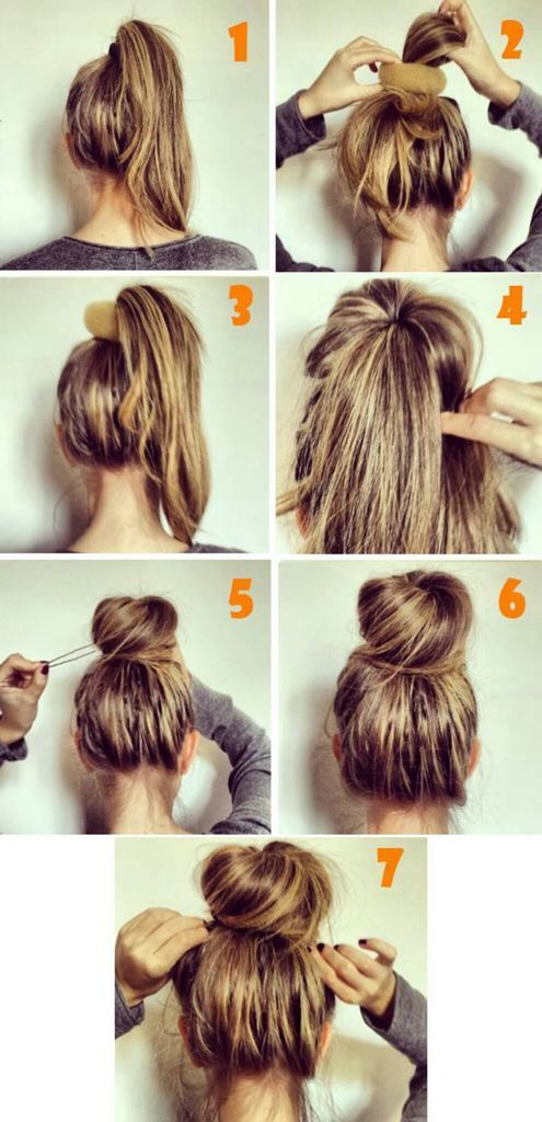 Simple Messy Hair Updo In Seven Easy Steps