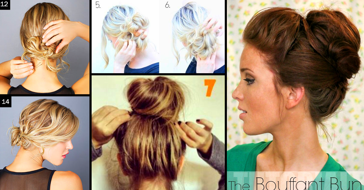 Awesome Top 25 Messy Hair Bun Tutorials Perfect For Those Lazy Mornings Hairstyles For Men Maxibearus