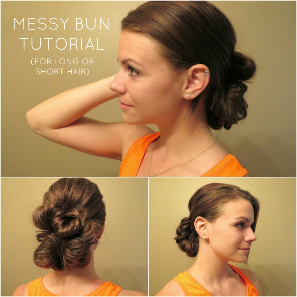 Pleasing Top 25 Messy Hair Bun Tutorials Perfect For Those Lazy Mornings Short Hairstyles Gunalazisus