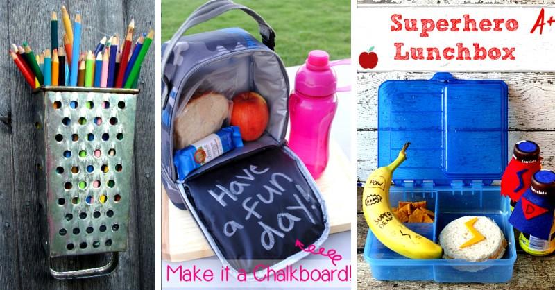 30 Creative And Fun Diy Back To School Ideas