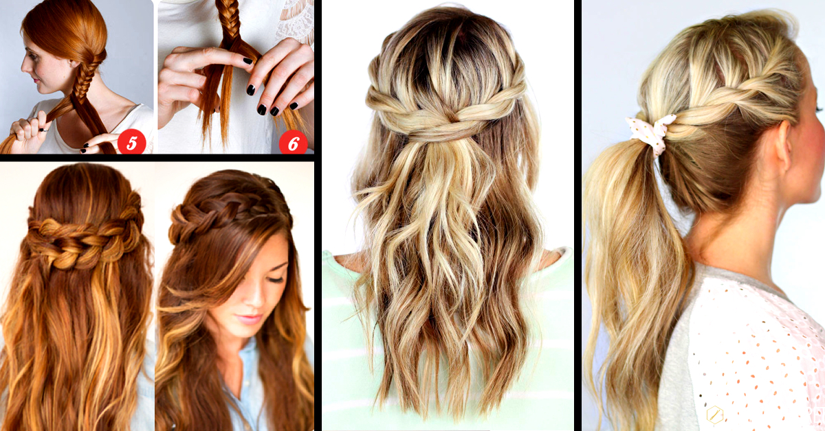 Prime 30 Cute And Easy Braid Tutorials That Are Perfect For Any Hairstyles For Men Maxibearus