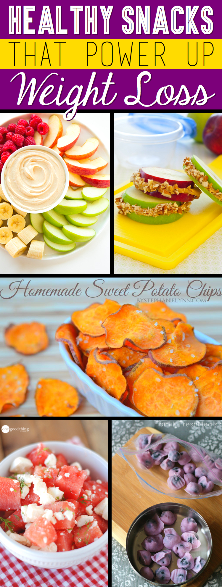 Healthy snack recipes to help with weight loss