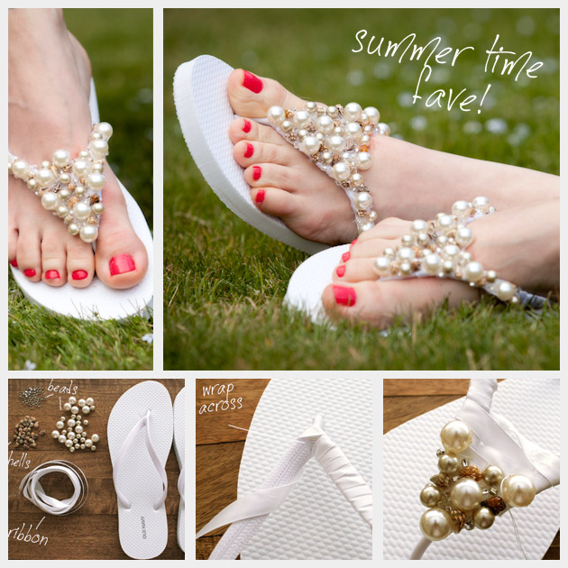 d9a1c9d0b Awesome Summer DIY Flip Flop Ideas For Under  5! – Cute DIY Projects