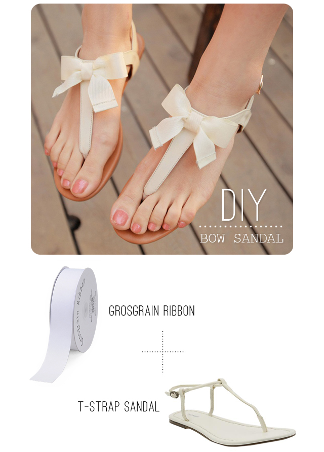 7b4f5aa694b72 This is the easiest project out of all of the ones listed above. The author  used sandals  but you can use flip flops too. All you need is the shoes