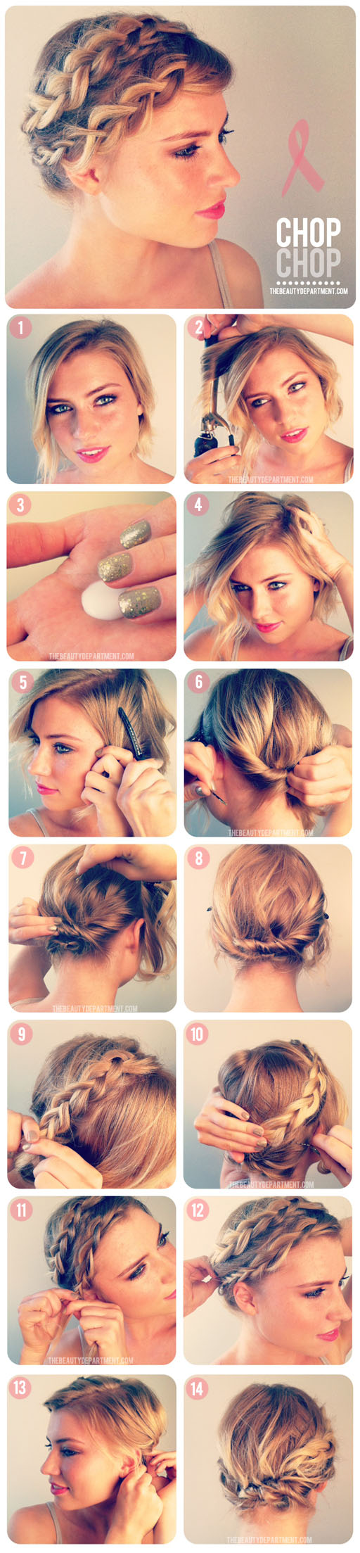 Strange 30 Cute And Easy Braid Tutorials That Are Perfect For Any Short Hairstyles Gunalazisus
